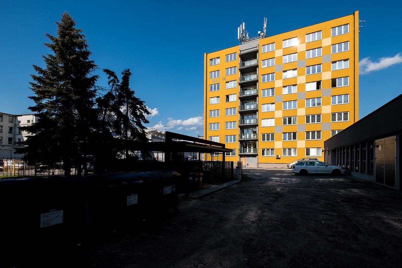 Exteriér – Ubytovna U Nádraží – Levné ubytování v Českých Budějovicích